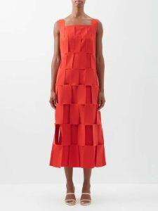Erdem - Reza Floral Print Velvet Gown - Womens - Multi