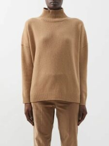 Valentino - Graphic Print Crepe Midi Skirt - Womens - White Print