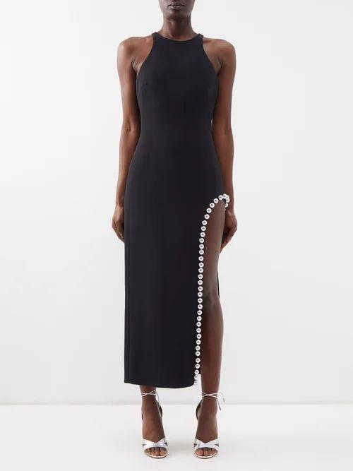Chloé - Flecked Cotton Blend Shirt - Womens - Beige Multi