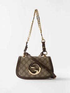 Roksanda - Eveline Fluted Cuff Georgette Dress - Womens - Burgundy Multi