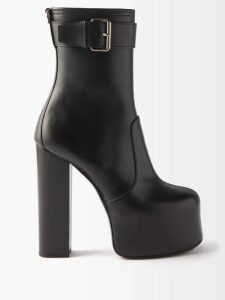 Msgm - One Shoulder Broderie Anglaise Cotton Dress - Womens - Pink