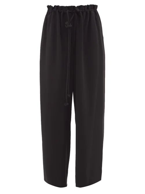 Valentino - Translucent Zip Through Jacket - Womens - Black