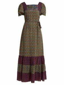 Duro Olowu - Geometric Print Dress - Womens - Black Print