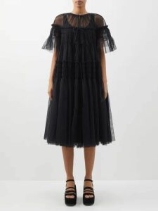 By Walid - Hazy Jungle Double Breasted Coat - Womens - Beige Print