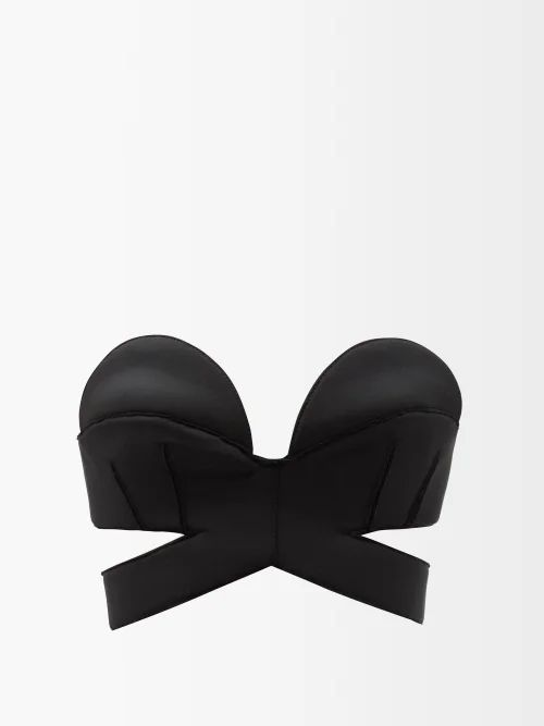 Chufy - Embroidered Silk Kimono Jacket - Womens - Navy