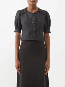 Altuzarra - Creedence Reversible Quilted Parka - Womens - Dark Green