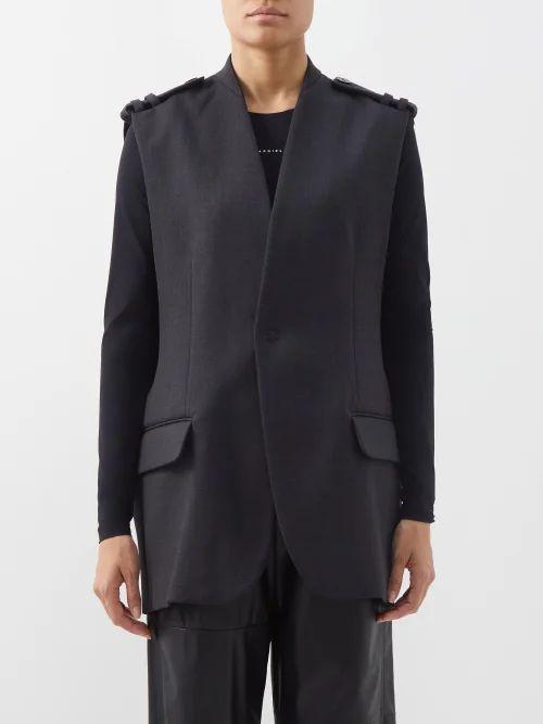 Balenciaga - Paisley Print Midi Dress - Womens - Burgundy Print