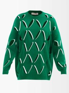 Balenciaga - Floral Print Silk Dress - Womens - Yellow Print