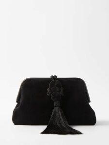 Balenciaga - Abstract Print Silk Dress - Womens - White Multi