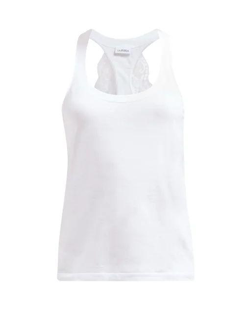Gucci - Gardenia Pleated Wool Crepe Skirt - Womens - White