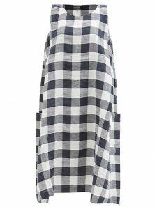 Erdem - Gisella Hideko Print Midi Dress - Womens - Pink Print