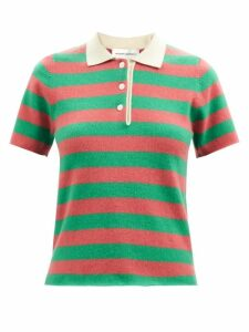 Erdem - Polly Floral Jacquard Dress - Womens - Blue Print