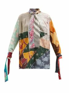Diane Von Furstenberg - Carrington Stripe Silk Blend Dress - Womens - Multi