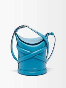 Roksanda - Nakata Geometric Print Silk Blouse - Womens - Blue Multi