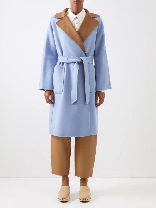 Roksanda - Uhura Crepe Coat - Womens - Red
