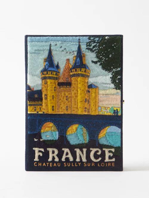 Roksanda - Kamri Silk Coat - Womens - Navy