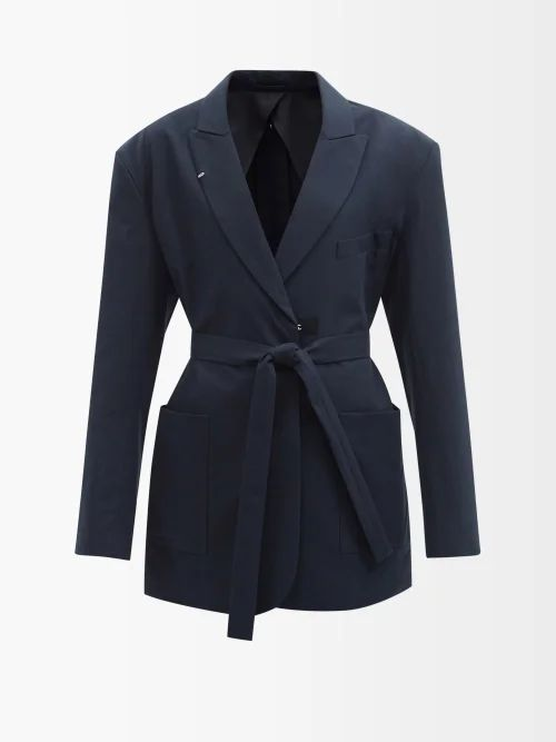 Roksanda - Argo Drawstring Dress - Womens - Burgundy