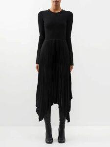 Tibi - Gingham Mini Skirt - Womens - Black White
