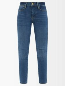 Goat - Glam Faux Pearl And Crystal Wool Crepe Dress - Womens - Black