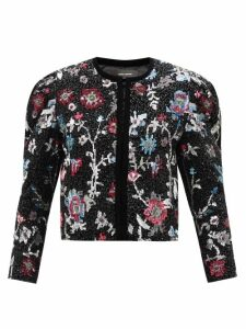 Vivienne Westwood Anglomania - Twisted Corduroy Pencil Skirt - Womens - Blue