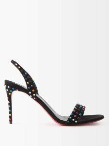 Borgo De Nor - Aiana Dragon Print Crepe Dress - Womens - Red Print
