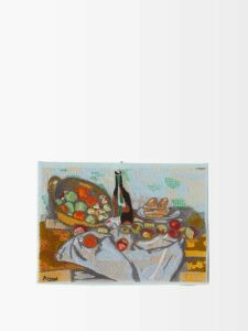 Giuliva Heritage Collection - Aida Wool And Silk Blend Midi Dress - Womens - Pink