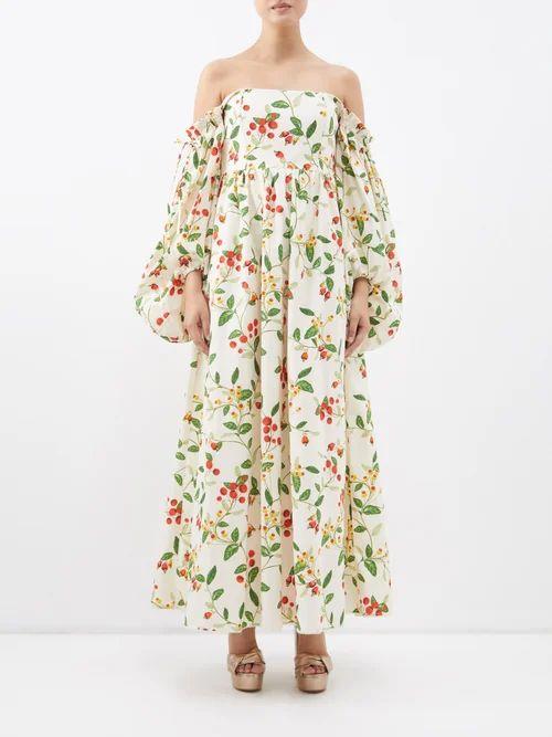 Joseph - Rainer Cotton Shirt - Womens - Dark Green