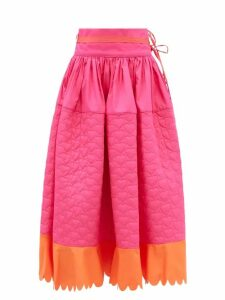 Emilia Wickstead - Wallace Python Print Coat - Womens - Animal