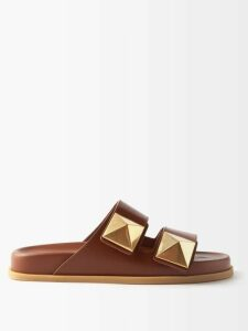 Roland Mouret - Fellini Floral Cotton Blend Skirt - Womens - Navy White