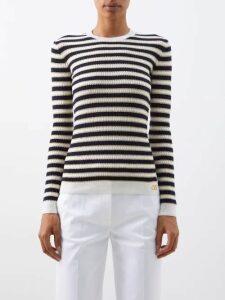 Msgm - Sequin Embellished Mini Dress - Womens - Black Multi