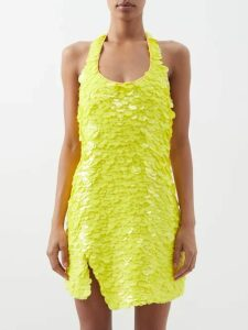 Vetements - Oversized Checked Cotton Shirt - Womens - Blue