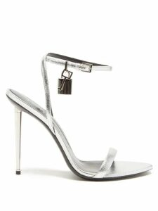 Preen By Thornton Bregazzi - Clemence Floral And Snake Print Satin Devoré Skirt - Womens - Multi