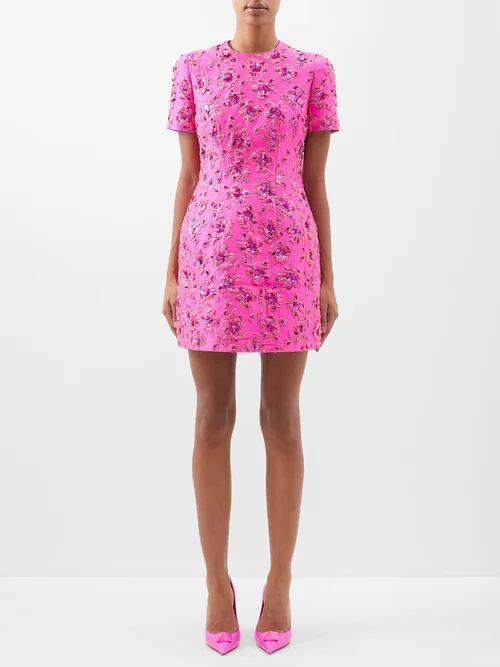 The Row - Francene Single Breasted Stretch Wool Blazer - Womens - Tan