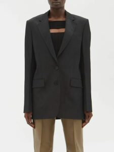Emilia Wickstead - Philly Ruched Crepe Dress - Womens - Light Pink