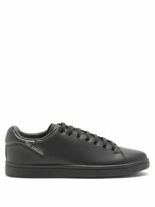 Comme Des Garçons Girl - Knitted Wool And Floral Cotton Blend Dress - Womens - Navy