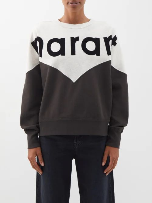 Isabel Marant - Tizy Paisley Print Silk High Neck Dress - Womens - Red Multi