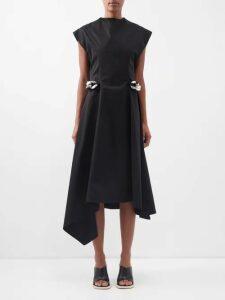 Joseph - Niven Mineral Print Silk Crepe Dress - Womens - Cream Print