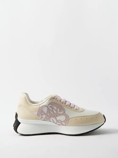 Erdem - Joyti Floral Jacquard Dress - Womens - Pink Multi