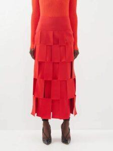 Richard Quinn - Floral Print Off The Shoulder Dress - Womens - Multi