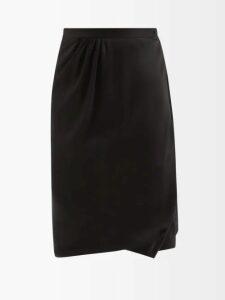 Raey - Oversize Quilted Denim Jacket - Womens - Indigo