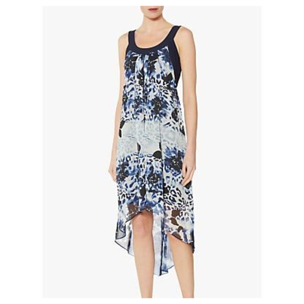 Gina Bacconi Prisma Chiffon Shift Dress, Multi