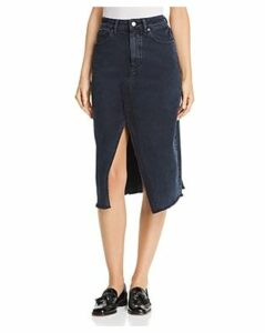 DL1961 Georgia Denim Midi Skirt