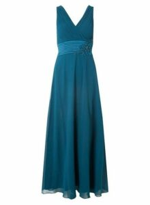 Womens **Showcase Forest Green 'Aria' Maxi Dress- Green, Green