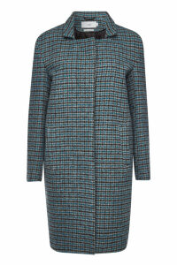 Closed Lori Checked Virgin Wool Coat