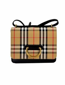 Burberry The Small Vintage Check Shoulder Bag