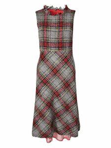 Ermanno Ermanno Scervino Checked Dress