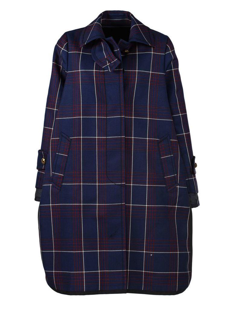 Sacai Checked Coat