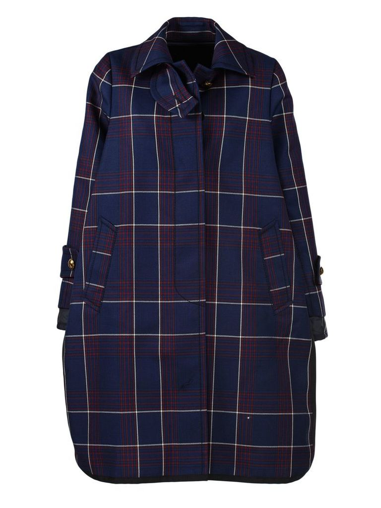 Sacai Checked Coat