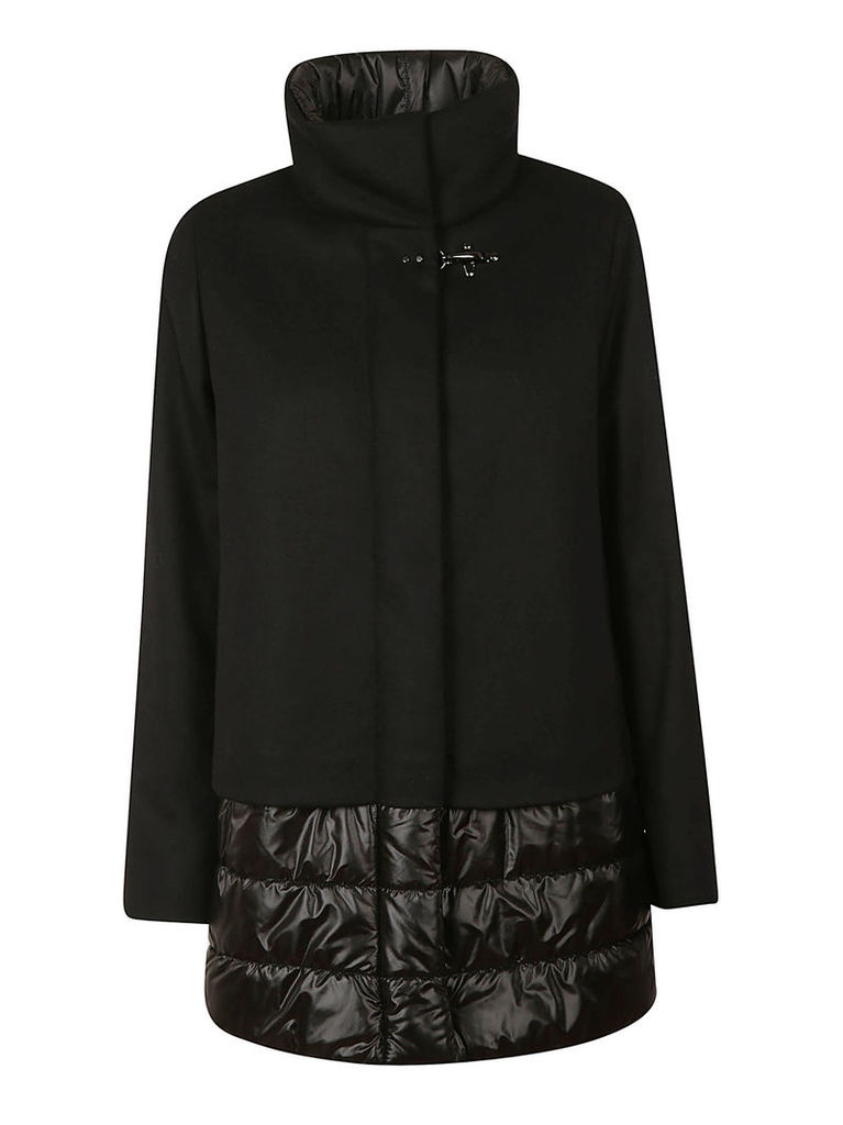 Fay Padded Detail Coat
