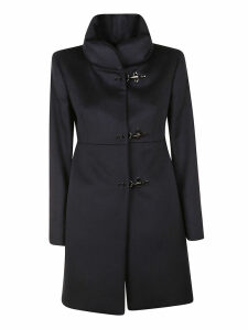 Fay Band Collar Coat